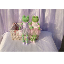 44Cm Cartoon Ballet Teddy Bears and Frog Plush Stuffed Toys Cute Ballet skirt Dress Bouquet Dolls Paty Gift Toys Wedding Gifts
