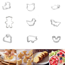 1Pcs/set Specialized Metal Cake Cookie Bakeware Mould Fondant Cookie Cutters Biscuit Mold Kitchen Diy Triangle(China)