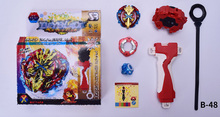 2017 beyblade toys for sale Burst B-48 B-66 Starter Zeno Excalibur .M.I (Xeno Xcalibur .M.I) with launcher