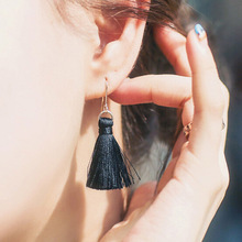New fashion jewelry tassel dangle drop earring gift for women girl wholesale E3108