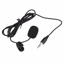 New Arrival 3.5mm Mini Studio Black Hands Free Clip Speech Microphone For Lectures Teaching Wholesale