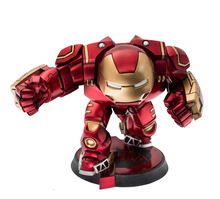 NEW hot ! 15cm An on-board avengers 2 Age of Ultron light Iron man Mark 43 Hulkbuster action figure toys doll Christmas gift