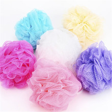 FD3889 new Bath Sponge Mesh Ball Scrunchie Body Wash Scourer Exfoliate Shower 2PCs(China)