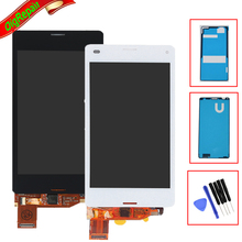 For Sony Xperia Z3 Mini Compact D5803 D5833 LCD Display Touch Screen Digitizer Assembly + Adhesive + Tools , Free Shipping