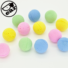 Cat EVA Ball Candy color 10pcs per lot Soft Foam Play Balls For cat(China)