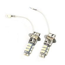 100% brand new item Best Price White H3 28 LED 3528 SMD 1210 Car Auto Light Source Headlight Fog Head Signal Lamp Bulb DC12V
