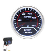 "CNSPEED Free shipping Car 2""52mm Smoke Lens Water Temperature Gauge 40~150Celsius Water Temp meter/Car Meter/Car gauge TT101228(China)"