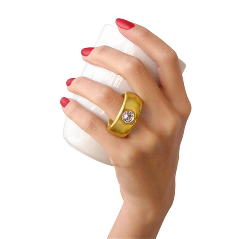 Creative Wedding Gifts Lovers Couple Cartoon Elegant Crystal Diamond Ring Mugs White Ceramic Cute Water Coffee Mug Drinkware8
