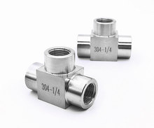 SS304 stainless steel equal Socket pipe fittings tube joint(China)