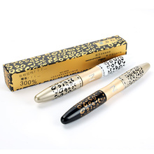 Leopard Mascara 3D youniqued FIBER LASHES Love Like Alpha Waterproof Transplanting Gel Natural Make Up Cosmetics(China)