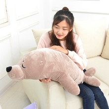 big size 45-100cm Cute Sea Lion Doll stuffed pp cotton kids toys baby toys birthday gift soft goat sea lion Plush Toys(China)