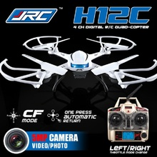 JJRC H12C Headless Mode 3D Flip Fly 2.4G 4 Channel RC Quadcopter Helicopter with Built-in 6 Axis Gyroscope With 5.0MP HD Camera(China)