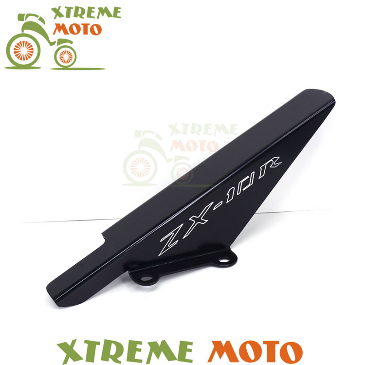 Aluminum Black Chains Guard Cover Shield For Kawasaki ZX10 ZX10R 04 05 2004 2005 Motorcycle Parts<br>