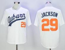 Meilunna Mens #29 BO JACKSON Stitched Baseball Jersey Movie jerseys White Size S-3XL(China)