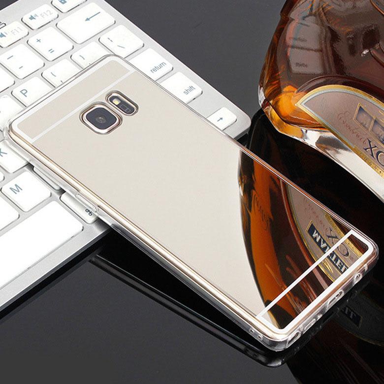 Original Luxury Mirror TPU Cases for Samsung Galaxy Edge Grand Prime Slim