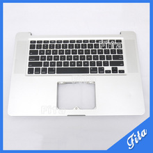 "Replacement TopCase with US Keyboard for Apple MacBook Pro 15"" A1286 Palmrest US Keyboard Year 2009(China)"