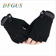 US Army Tactical Gloves Outdoor Sports Original logo half finger Combat Glove Slip-resistant Carbon Fiber Mittens Wholesale