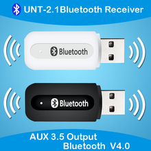 USB Wireless Stereo Audio Bluetooth Receiver for Car AUX Home Sound System Speaker USB Audio Jack Music Box for IOS Andriod