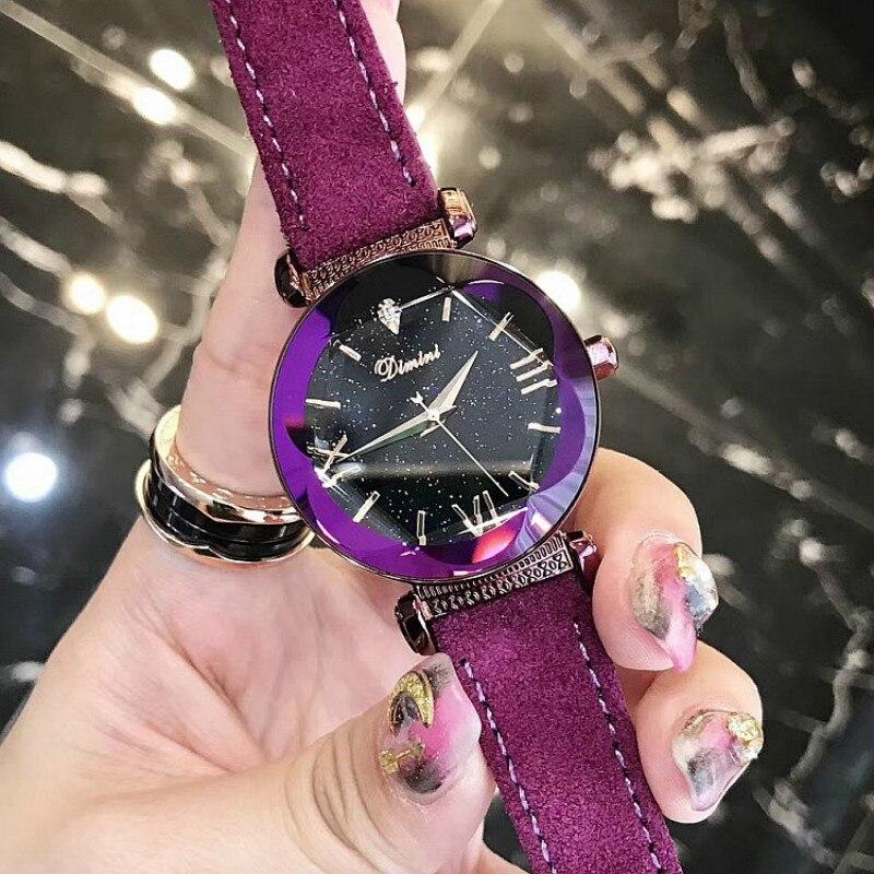 Famous Brand Luxury Ladies Watch Brand Women Watches Fashion Quartz Wristwatch Montre Femme Clock Female Reloj Mujer 2017 Purple<br>