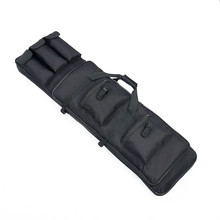 Military 100CM / 39.37in Black Color Square Carry Gun Bag 100*30*8cm High Quality Holster Pouch Bag Rifle Bag CL12-0014