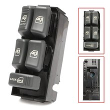 Electric Power Window Master Control Switch For Chevrolet/Cadillac for GMC Sonoma Blazer Suburban Truck 1996-2001 2001-2004