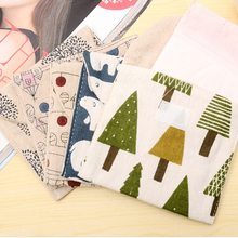 Cute Cotton Flowers Tree Sanitary Bags Sanitary Towel Storage Bags Portable Napkin Bags