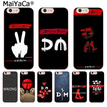Buy MaiYaCa Depeche Mode dm Newest Fashion Luxury phone case iPhone 8 7 6 6S Plus X 10 5 5S SE 5C 4 4S Coque Shell for $1.05 in AliExpress store