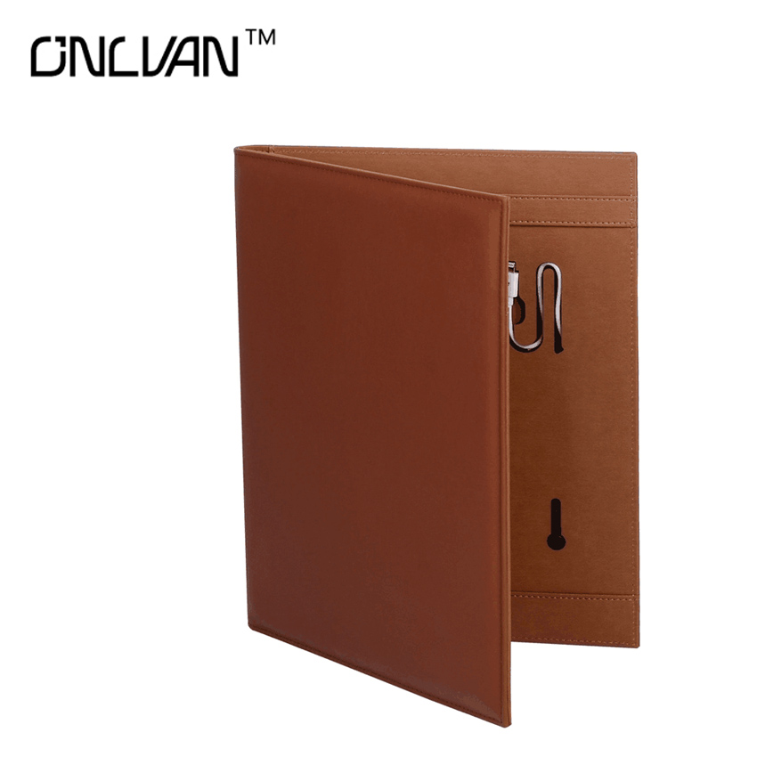 New Design Portfolio with 4000/6000mAh Portable Source Manager Folder Padfolio Removable Power Multifunction Padfolio Customized<br>