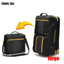 "TRAVEL TALE 32"" inch waterproof big capacity trolley luggage large travel baggage multifunctional bag(China)"