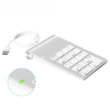 Portable USB numeric keypad ultra thin USB keyboard Mini Keyboard for iMac/MacBook Air/Pro Laptop PC Notebook Desktop