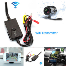 Fochutech Dual date WIFI Realtime Video Transmitter+Car rear view camera work mobilephone