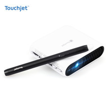 Cool Touchjet Pond Portable Smart Touch Projector Mini LED Wireless Home Theater System TV Game Projector Office Early Education