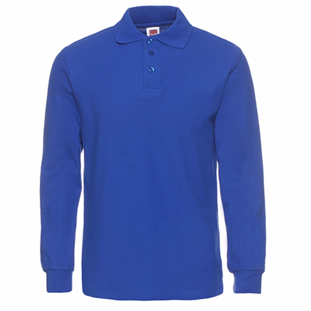 Mens Polo Shirt Brands 2019 Male Long Sleeve Polo Shirts Men Fashion Casual Cotton Slim Fit Polos Men Jerseys Plus Size XS-3XL