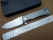 Quality Tactical Folding Knife survival knife 9cr18mov Blade steel handle Outdoor camping Pocket rescue Knives utility EDC Tools(China)