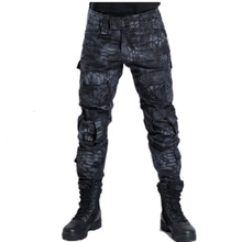 TECHOME Cargo Pants Casual Multi Pocket Military Overall Men Outdoors Long Trousers