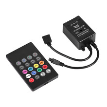 LED Music Controller 20keys IR Remote Sound Sensor Controllers for RGB Strip Lights