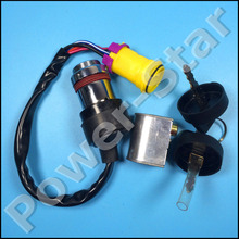 WATERPROOF IGNITION KEY SWITCH BUAYNG 300CC D300 G300 ATV PARTS