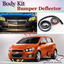 For Chevrolet Exclusive Bumper Lip Lips / Car Lip Shop Spoiler Car Scratch Proof Adhesive Strip / TOPGEAR Body Kit + Strip