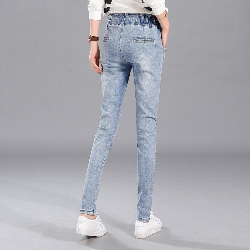 32 plus size denim jeans pants women spring autumn 2017 bermuda feminina harlan jeans loose denim pants female A1262Одежда и ак�е��уары<br><br><br>Aliexpress