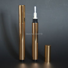 3ml gold click lip gloss cream /mascara/Eyelash growth liquid/ teeth whitening tube , make up dial up pen,disposable(China)