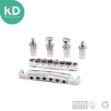 Special deal Electric Guitar Bridge Tune-O-Matic Guitar roller saddle and Tail piece for Epiphone LP Guitar Replacement