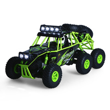 Wltoys Remote Control RC Cars Vehicle 1:18 2.4G 6WD Electric Off-Road Rock Crawler Climbing SUV RC Buggy Car RTR Model Bigfoot(China)