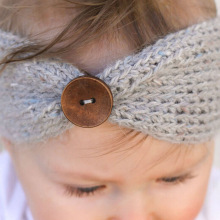 Girl Wool Knitted Headbands Winter Kids Newborn Hair Head Wrap Turban Headband Headwear Hair Headwrap Accessories