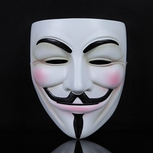 2 Pcs Halloween Mask V for Vendetta Masks Guy Fawkes Mask Party Cosplay Mask for Halloween Costume Masquerade Mask