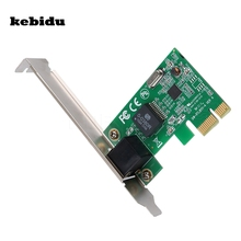 kebidu 1000Mbps Gigabit Ethernet PCI Express PCI-E Network Card 10/100/1000M RJ-45 RJ45 LAN Adapter Converter Network Controller(China)