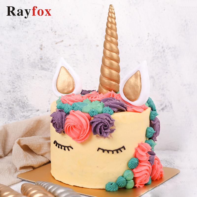Detail Feedback Questions About 3 Pcs Set Unicorn Cake Topper
