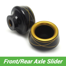 For Kawasaki Z125 Front and Rear Axle Slider Protector for kawasaki Z125 Pro 2015 2016 after market