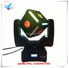 A-2017 new Powercon in and out 6x12w  4in1 led super light led beam moving head cube night club light