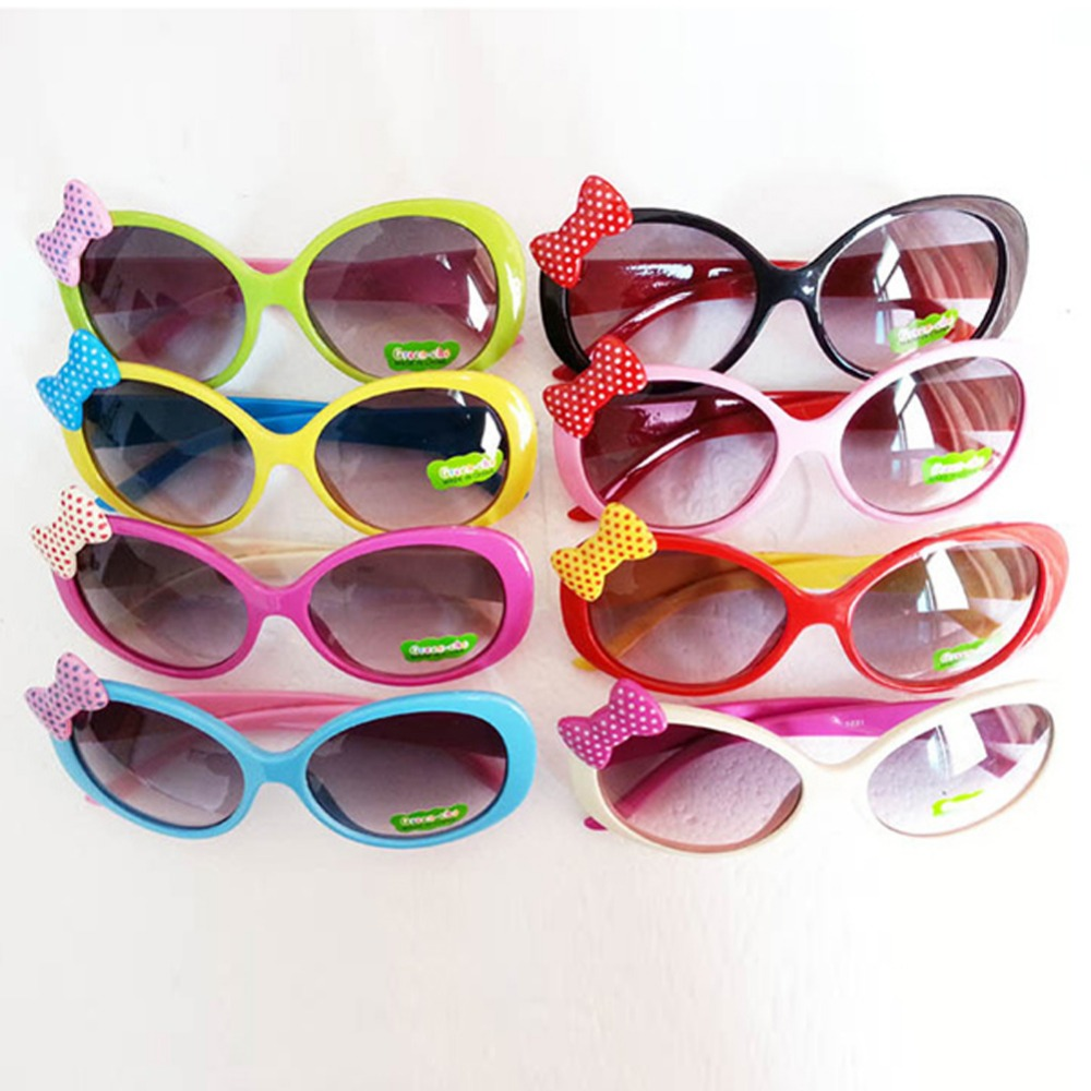 Sun Glasses for Toddlers Kids Plastic Frame Sunglasses Girls Baby Bowknot Cat Eye Shades Goggles Eyewear UV400<br><br>Aliexpress