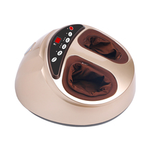 Air pressure foot massager heating foot massage device household massage foot device remote control foot cure instrument